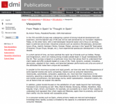 dmi publications